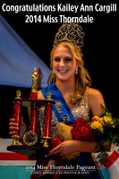 2014 Miss Thorndale Pageant